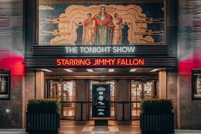 Jimmy Fallon show building theater