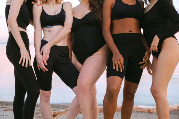 women with different body types