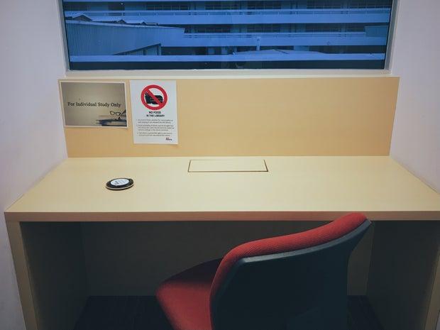 NTU personal study room