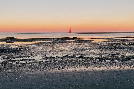 Sunset at Folly Beach Charleston, SC
