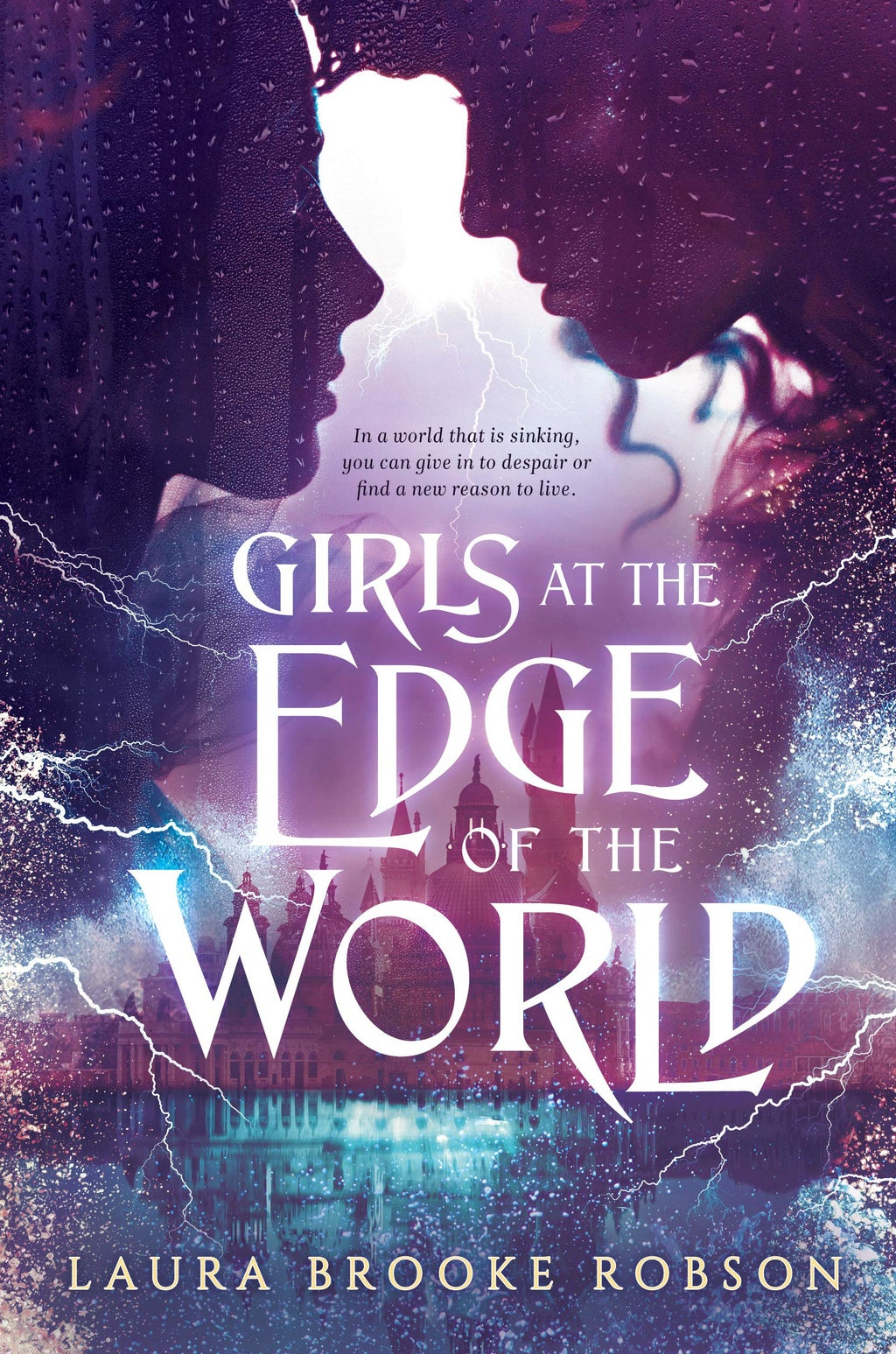 book cover of girls at the edge of the world by laura brook robson
