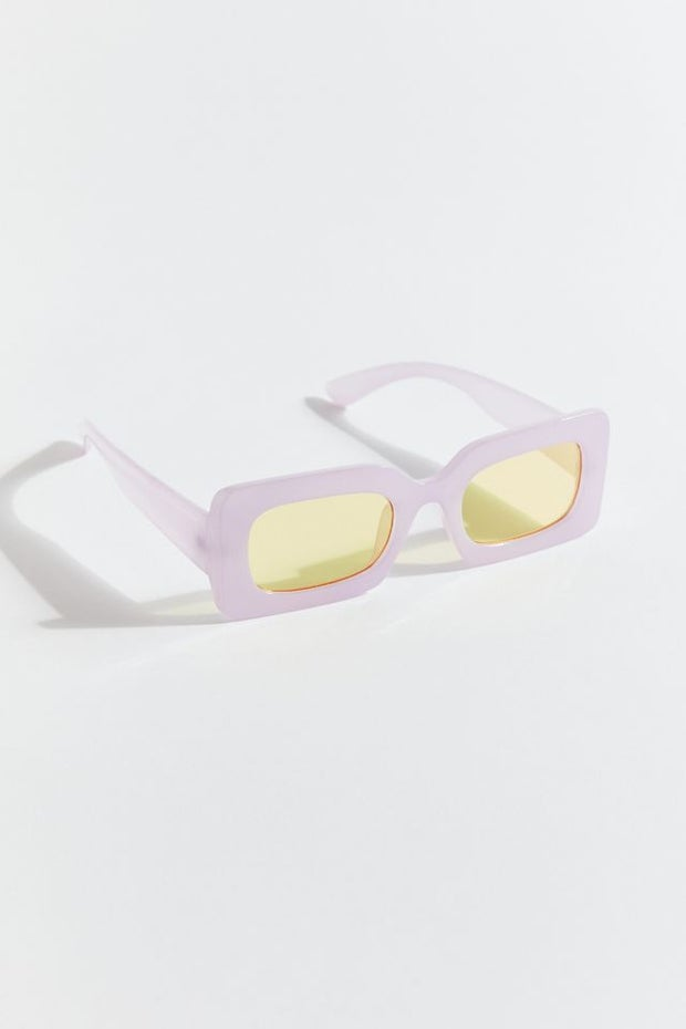 Margot Chunky Rectangle Sunglasses