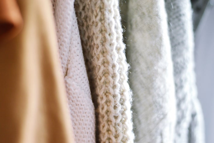 close up photo of knitted sweaters