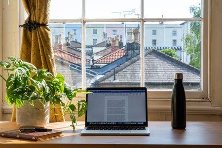 Bristol working from home scene