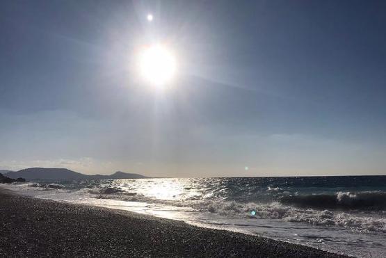 rhodes, greece ixia beach