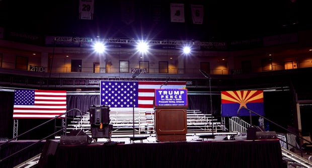trump stage