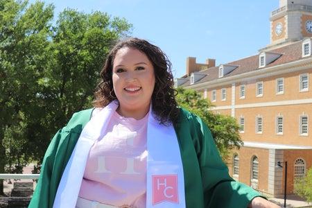 graduation photo of me