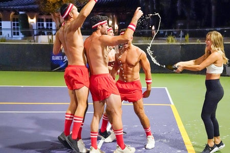 The Bachelorette strop dodgeball