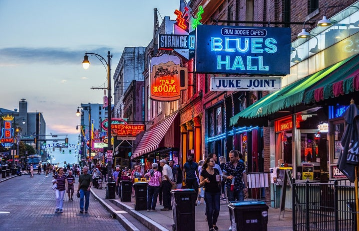 beale street in memphis tennessee