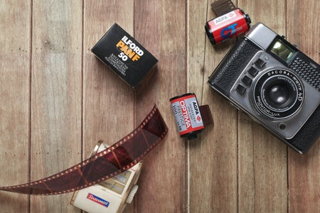 developing film camera