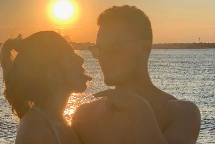me and my boyfriend sunset