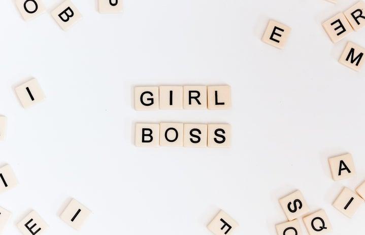 Girl Boss Letters