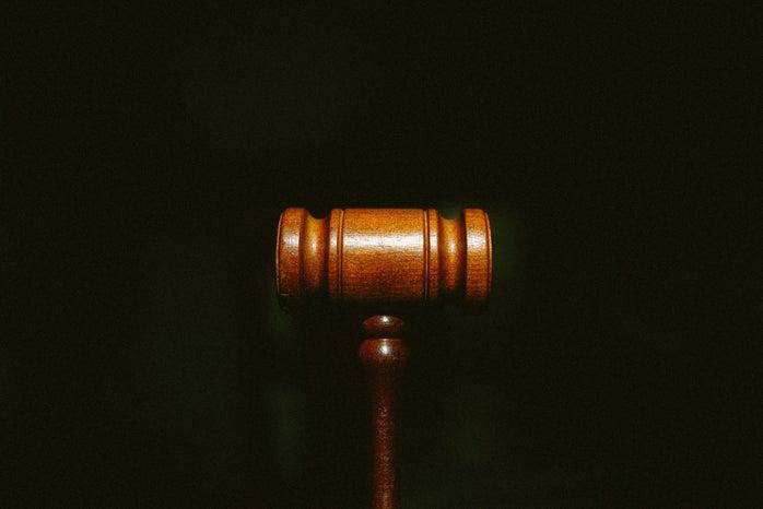 court mallet