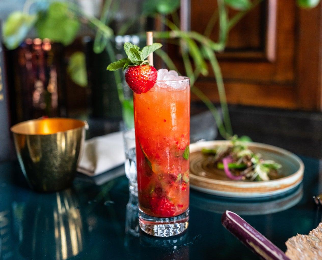 Sleigh the Season - Holiday Cocktail Recipe