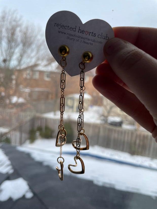 Con Amour Dangle Earrings