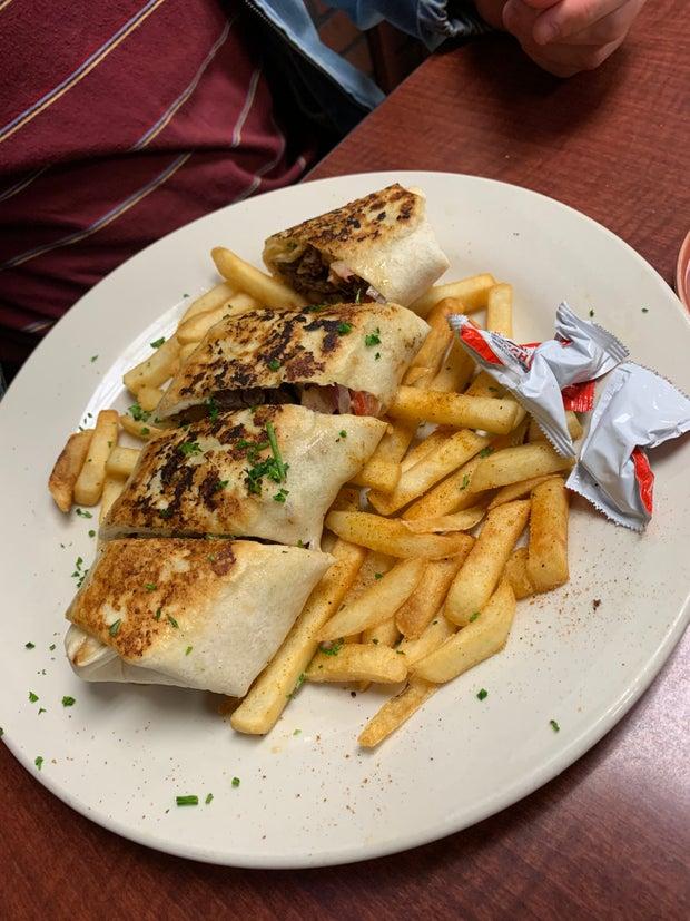Jordanian Food - shawarma