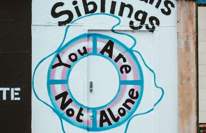 Trans Siblings Graffiti