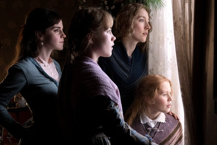 screen shot from the movie Little Women