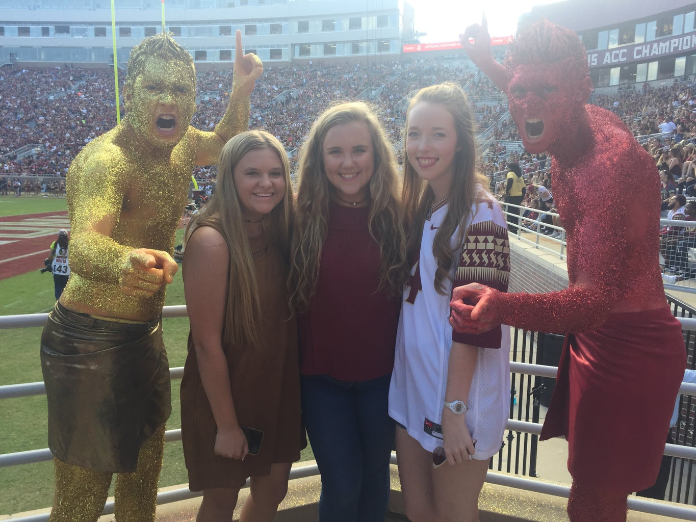 Roommates plus Garnet and Gold Guys