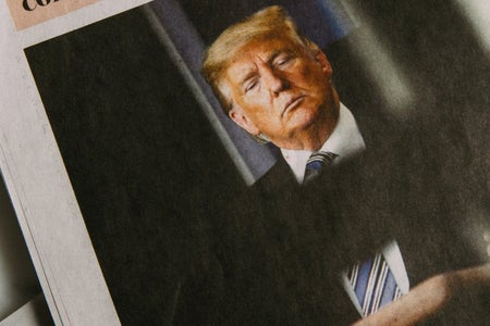 Donald Trump Newspaper