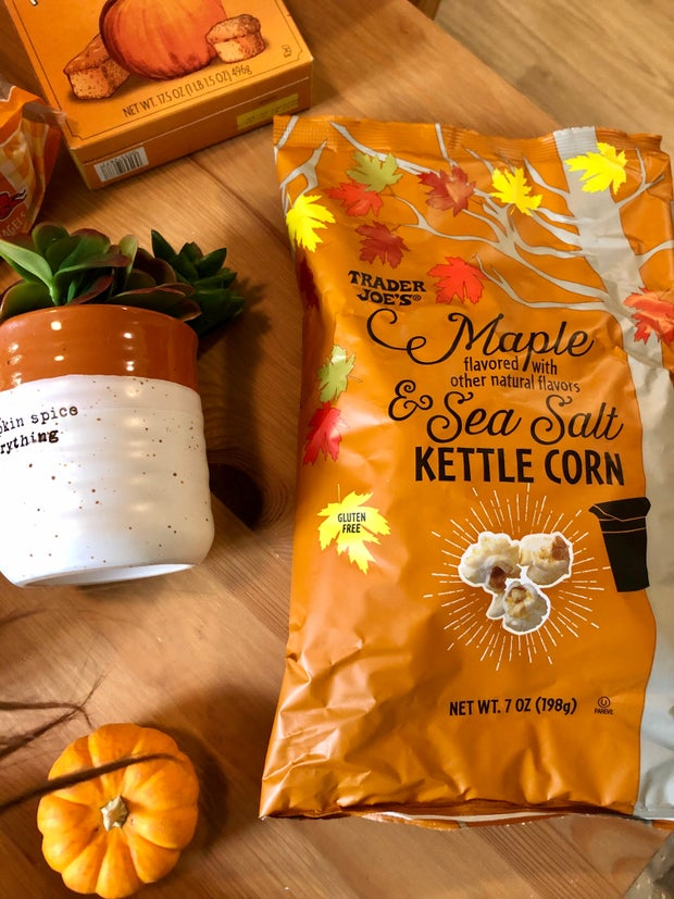 trader joes maple flavored kettle corn