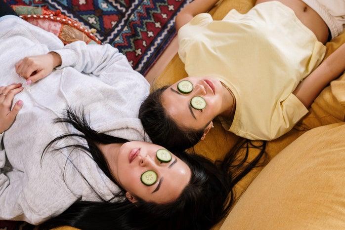 self care and cucumbers