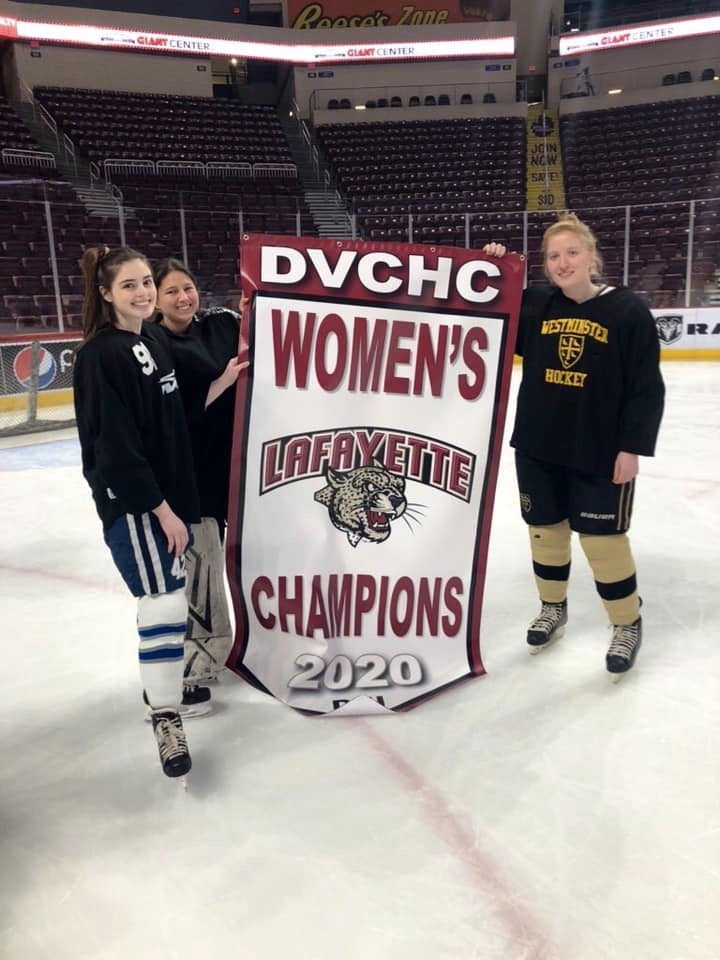 Image of my colleges hockey team championship