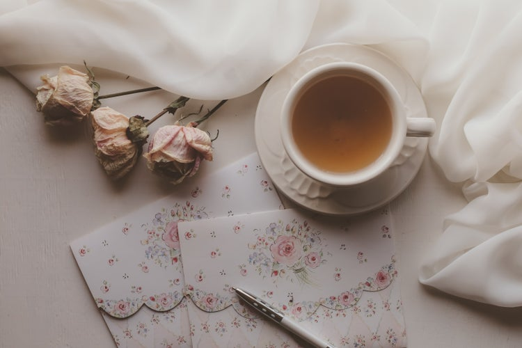 Tea, Roses, and Pretty Letters