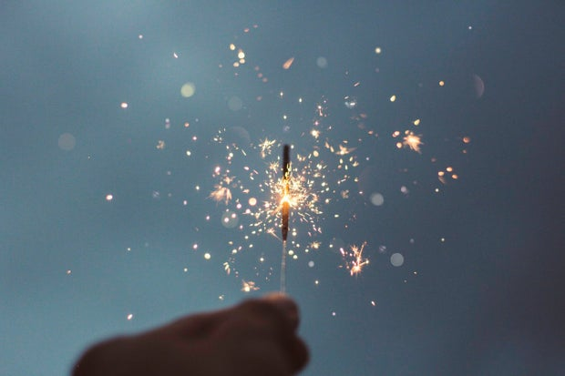 magic sparkler