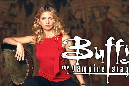 Poster for Buffy the Vampire Slayer TV show.