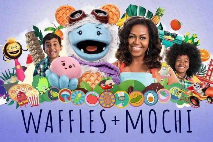 Waffles + Mochi: Netflix Poster