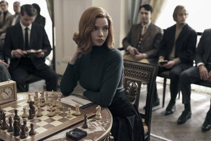 Beth Harmon from the Queen's Gambit