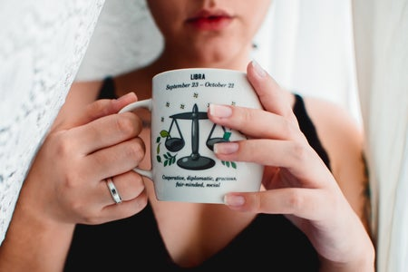 Woman w/ Coffee Mug