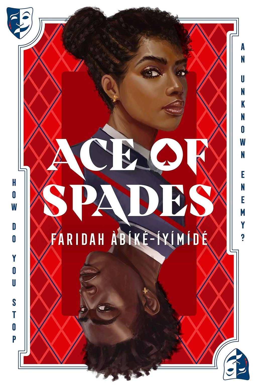 book cover of ace of spades by faridah àbíké íyímídé