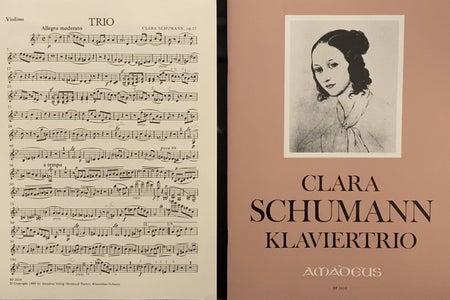 Music for Clara Schumann's Piano Trio in g minor