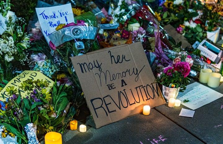 Ruth Bader Ginsburg memorial