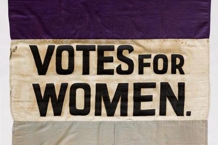 votes for women flag