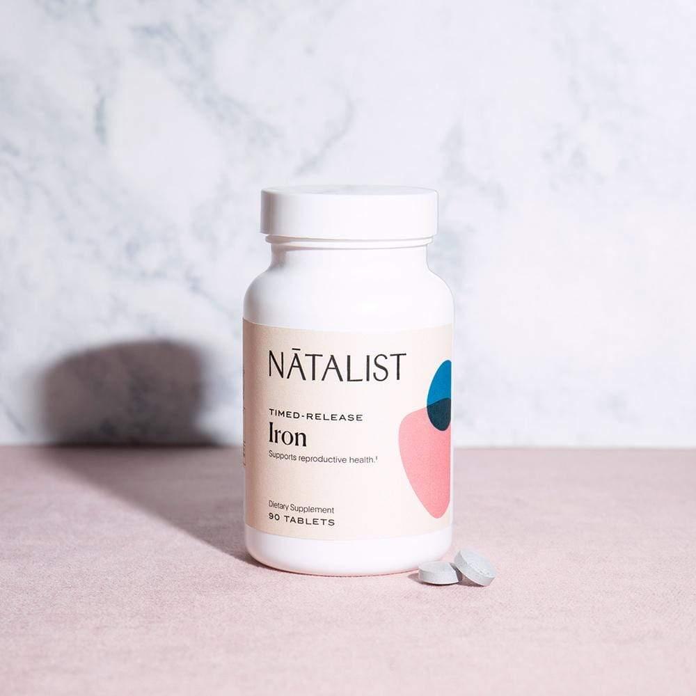 Natalist iron supplement