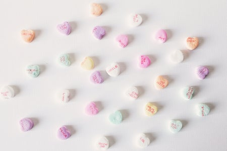 valentines day conversation hearts