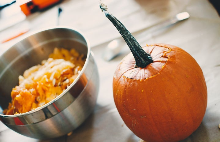 pumpkin cooking