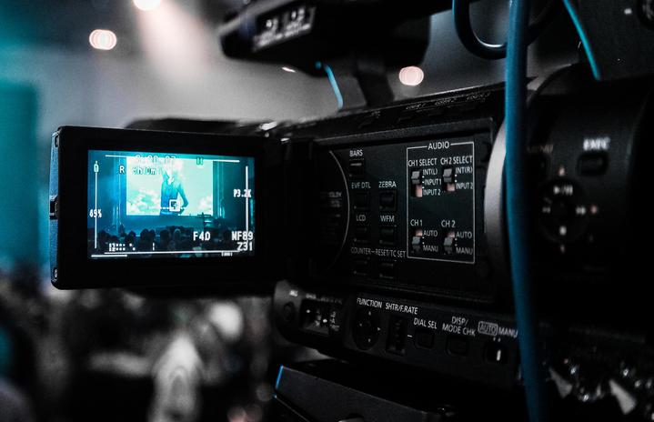 Black Camera Recording