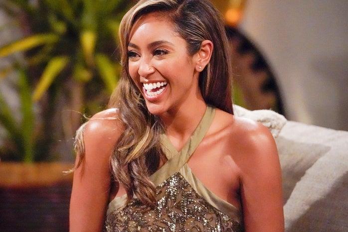 Tayshia Adams from The Bachelorette