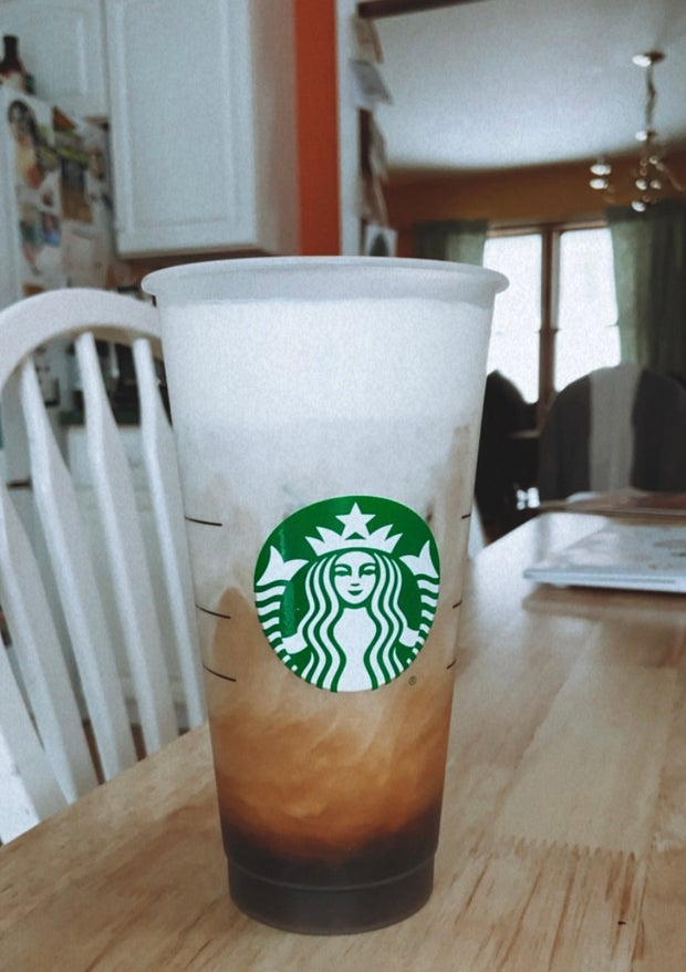 homemade cold foam coffee