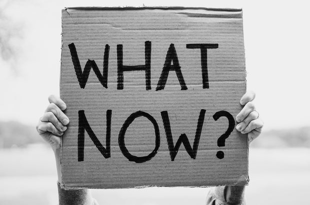 what now protest sign
