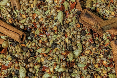 an assortment of spices by The Abibiman project