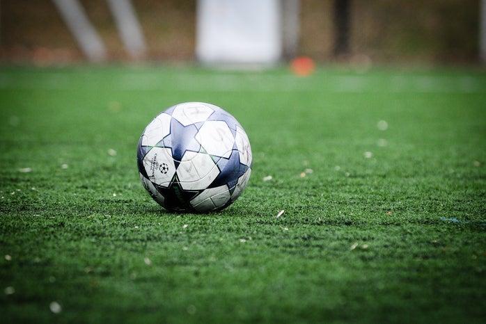 Ball on field