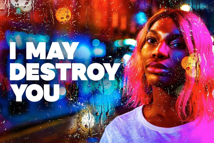 production poster for I May Destroy You show