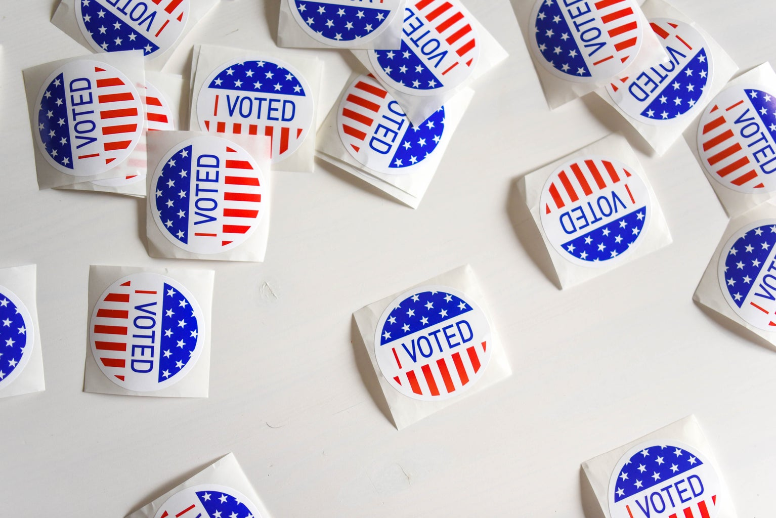 ""\""""I VOTED"""" stickers""1534|1024|?|en|2|29512be06bfad89ce9f65791bbf59057|False|UNLIKELY|0.2897016704082489