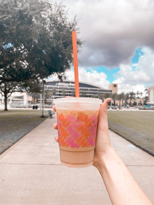 Dunkin Donuts iced drink