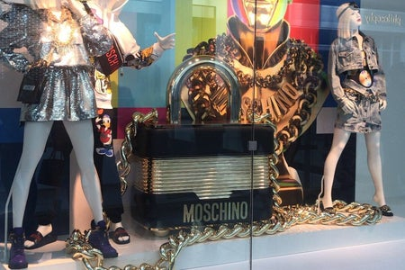 Pictures I took from H&M's Moschino collaboration launch.